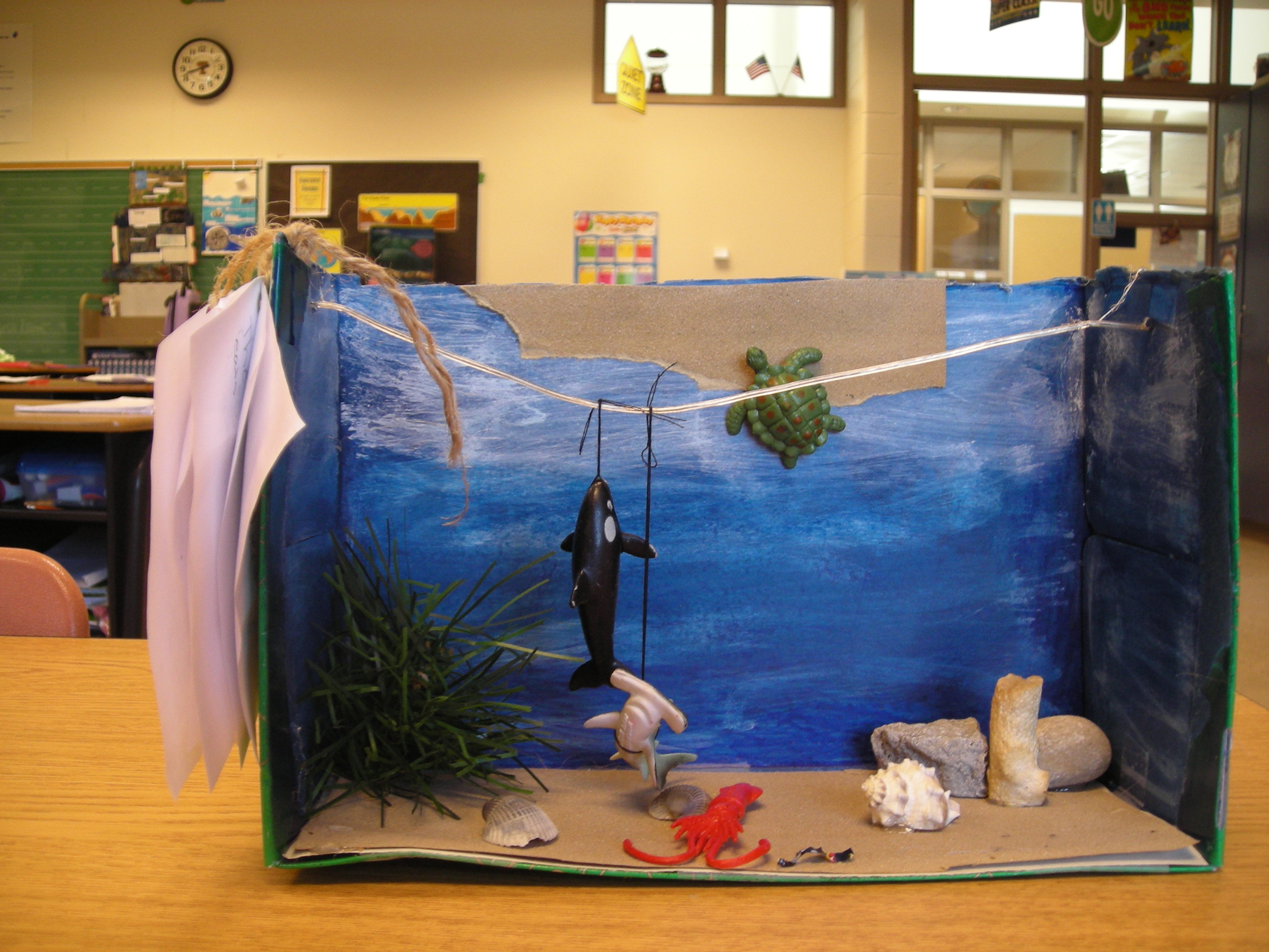 Mr Colets 4th Grade Learning Zone Underwater Sea Creatures